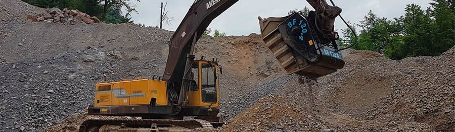 Trituradora MB Crusher BF120.4